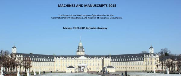 Machines and Manuscripts 2015